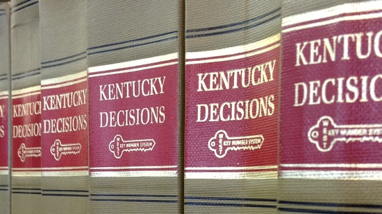 Kentucky Decisions Books on Shelf