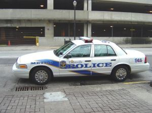 Police vehicle Louisville
