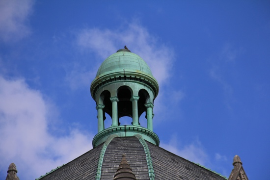 Top of the Old Limestone Court House in Lexington, Kentucky Photo by Michael Stevens