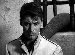 Cary Grant looking a little perplexed in the movie, Gunga Din.