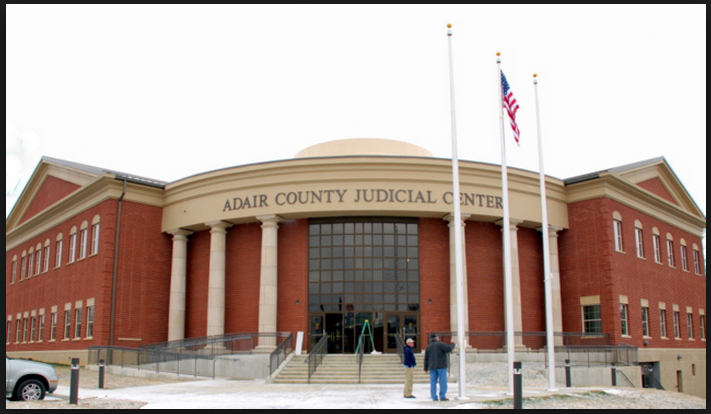 New Adair County Judicial Center, Columbia, Kentucky.