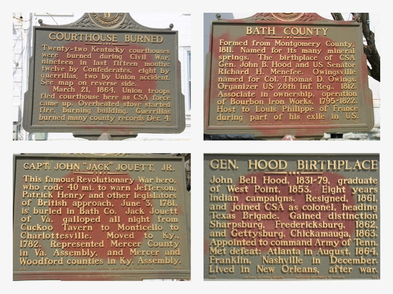 BathCoutyPICFrame of historical markers